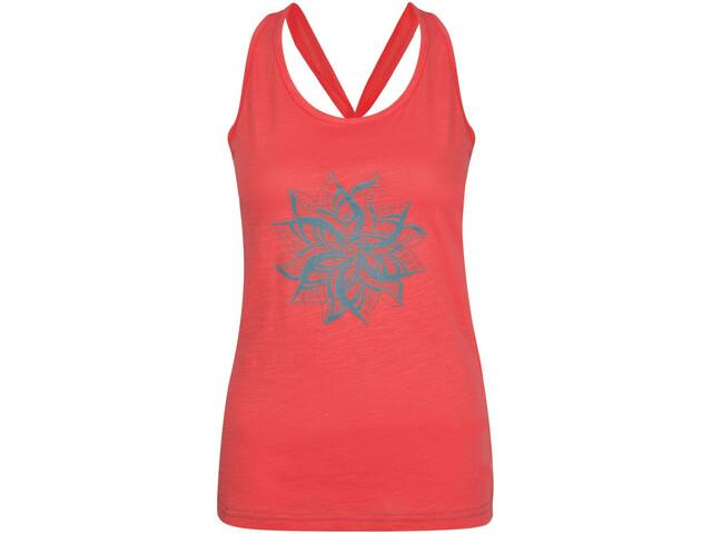 Dare 2b Plentitude - Camisa sin mangas Mujer - rojo